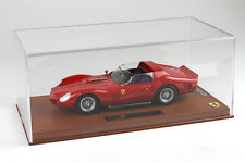 BBR 1962 Ferrari 330 TRI Street Version Red w/ Glass Cover 1/18 New LE of 32.