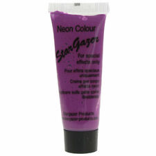 Neon Face Paint Body Skin Uv Punk Goth Rave Stargazer Cosmetics Beauty Purple