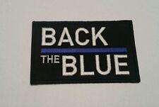 Back the Blue motorcycle vest jacket patch