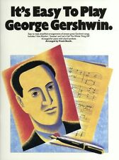 Its Easy To Play George Gershwin Learn BEGINNER Piano Guitar Music Book