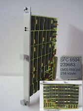 AEG Modicon SPS PLC Speicher Baugruppe memory RAM card SFC6504  SFC 6504