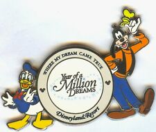 DLR Where My Dream Came True Year of A Million Dreams Donald and Goofy Pin