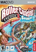 Rollercoaster Tycoon 3 Soaked Mac New in Box