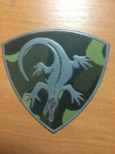 PATCH POLICE RUSSIA - green subdued -  ORIGINAL! 2 patches