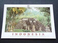 INDONESIA MYSTERIOUS CANDI SUKUH TEMPLE MT LAWU CENTRAL JAVA POSTCARD