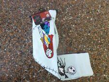 Disney Nightmare Before Christmas Jack Sally Women's Knee High Socks 9-11 NWT