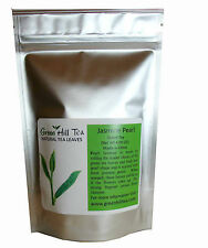 Greenhilltea Jasmine green tea Jasmine Pearl loose leaf  tea  4.00  OZ bag