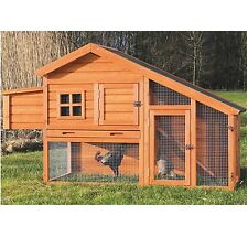 TRIXIE Pet Products Chicken Coop with a View, Glazed pine 55962 New