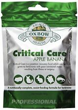 OXBOW Herbivore Critical Care Apple Banana Animal Supplement Feed Formula 141g