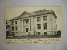 VINTAGE POSTCARD VIEW OF THE CARNEGIE LIBRARY IN WACO TEXAS 1906 UNDIVIDED BACK