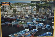 2001 Rose Art ~ Luarca Harbor Asturia Cantabrian Coast Spain 1000 pc Puzzle Boat