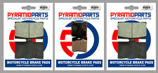 Ducati 888 SPS 92-95 Front & Rear Brake Pads Full Set (3 Pairs)