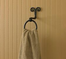Scroll Ring Hand-Forged Bathroom Towel Hook by Park Designs