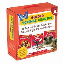 Guided Science Readers Parent Pack: Level A : 16 Fun Nonfiction Books That...