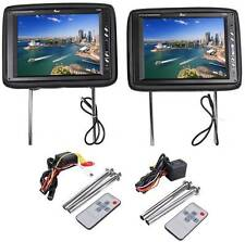 "Tview T120PL 12"" Car Headrests with Dual Sensor IR Transmitter Built In"