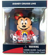 "DISNEY VINYLMATION 3"" DCL CRUISE LINE MINNIE MOUSE MICKEY 2011 PARK TOY FIGURE"