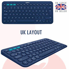 Logitech K380 Multi-Device Bluetooth Keyboard Windows Mac Chrome Android UK