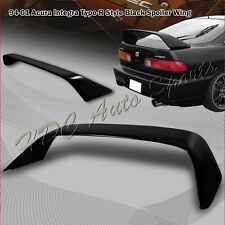 For Acura Integra DC1 2 Door Type-R Style Painted Black Rear Trunk Spoiler Wing