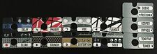GIGWRX Premade Pedal/Amp Magnetic Labels For Fractal Audio FX8 FX-8