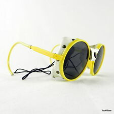 BOLLE' very rare vintage glacier sunglasses NOS made in France Yellow