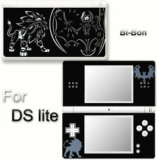 Solgaleo Lunala Black Edition SKIN DECAL STICKER COVER for Nintendo DS Lite