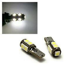 2 x 501 W5W T10 Error Free Canbus 9 SMD LED Sidelight Bulbs 6000K White - Audi