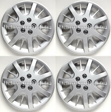"Silver Wheel Covers / Hubcaps 16"" for 2000-2011 Chevy Impala"