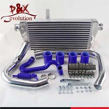 Blue Intercooler+Aluminum Pipe/piping Kit for 96-01 VW Passat Audi A4 B5 1.8T