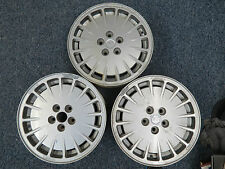 Alfa Romeo 164 L Factory 6Jx15 H2-40  Speedline Wheels ( 3 ) Good Used Condition
