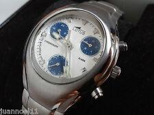 Reloj pulsera caballero LOTUS 9760 Original cronometro alarma Nuevo chrono