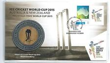 2015 Australia/NZ  ICC Cricket World Cup Cricket  Medallion PNC