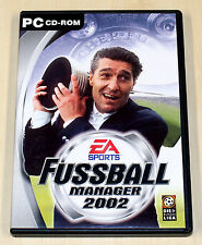 Pc jeu EA FIFA FOOTBALL MANAGER 2002 --- (13 14)