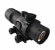 Ade Advanced Optics 5x36 Prism Sight Tactical Rifle Scope RED/GREEN/BLUE reticle