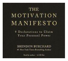 The Motivation Manifesto by Brendon Burchard (2015, CD)