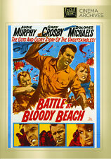 Battle at Bloody Beach 1961 (DVD) Audie Murphy Gary Crosby Dolores Michaels -New