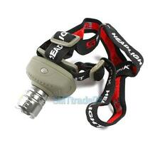 Waterproof Cree LED Head Light Torch Zoomable Zoom 5W Focus Cree 6-mode Headlamp