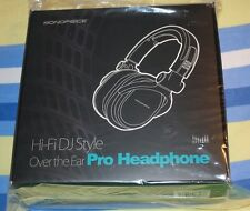 BRAND NEW Monoprice MHP-839 Premium Hi-Fi DJ Style Over-the-Ear Pro Headphone