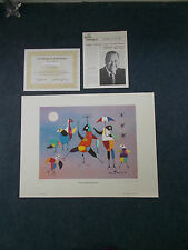 """The Umbrella Dancers"" Lithograph Print By Jonathan Winters #27/475 25"" X 19"""