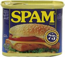12 Spam Original 12oz 340g can meat processed pork ham classic Hormel emergency