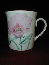 Horchow Collection Japan Botanical Poppy Seed Herb Spice Flower Coffee/Tea Mug