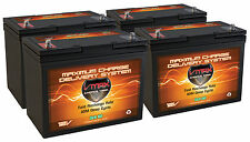 QTY 4 VMAX SLR60 SOLAR AGM DEEP CYCLE 12V 60AH EACH backup battery 12v 24v 48v