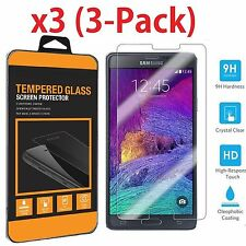 New Premium Real Tempered Glass Screen Protector for Samsung Galaxy Note 4