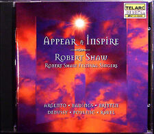 Robert Shaw: appear & Inspire ARGENTO Badings Britten Debussy Poulenc Ravel CD