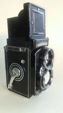 Rolleiflex 2.8E TLR Camera W/ Zeiss 80mm Planar Lens W/Case
