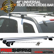 Fits 48 Inch Top Roof Rack Cross Bar Adjustable Clamps Luggage Carrier Aluminum
