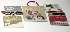 NWT So Cute! Christmas Holiday Gift Bags, Set of 5