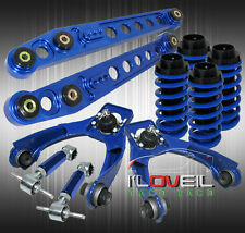 96-00 CIVIC COILOVER LOWERING SLEEVES + LCA LOWER CONTROL +F/R ADJUST CAMBER KIT