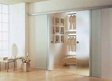 Doppel Soft Stop Glasschiebetür Glas Schiebetür 2x775x2050mm BPS775+DPL