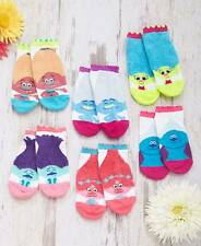 Troll Socks Face 6-Pack Low Cut Sock Size 9-11 Character Poppy Branch Smidge