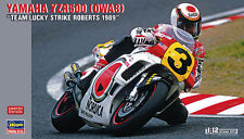 Hasegawa 1/12 Scale Model Motorcycle Kit Yamaha YZR500 OWA8 1989 (No Decal)